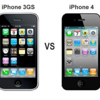 Comparatif entre iPhone 4 et iPhone 3GS