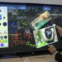 Interface tactile pour élèves au college & lycée