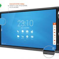 Avantages et fonctionnement de l'écran tactile interactif grande taille