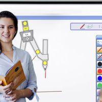 Ecran interactif pedagogique au college