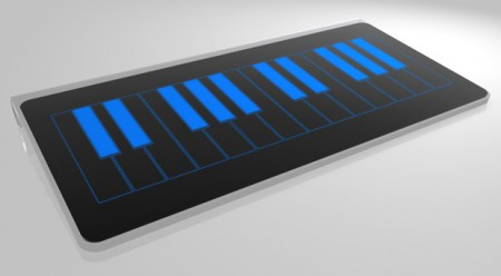 clavier tactile magicboard piano