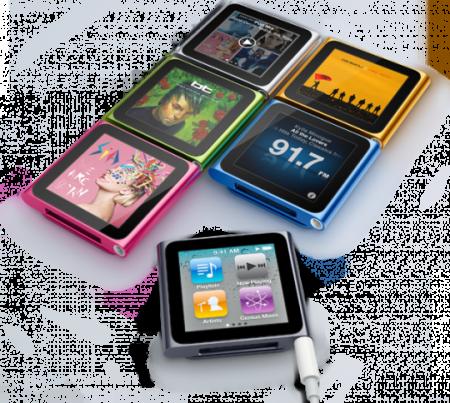 ipod nano tactile