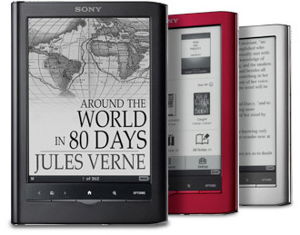 Sony Reader tactile